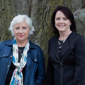 cathy busch and roberta o'keith, growth coach franchise ownership duo
