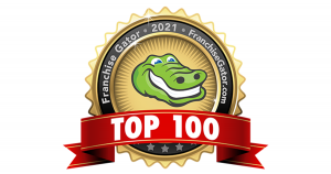 Franchise Gator Top 100 Logo