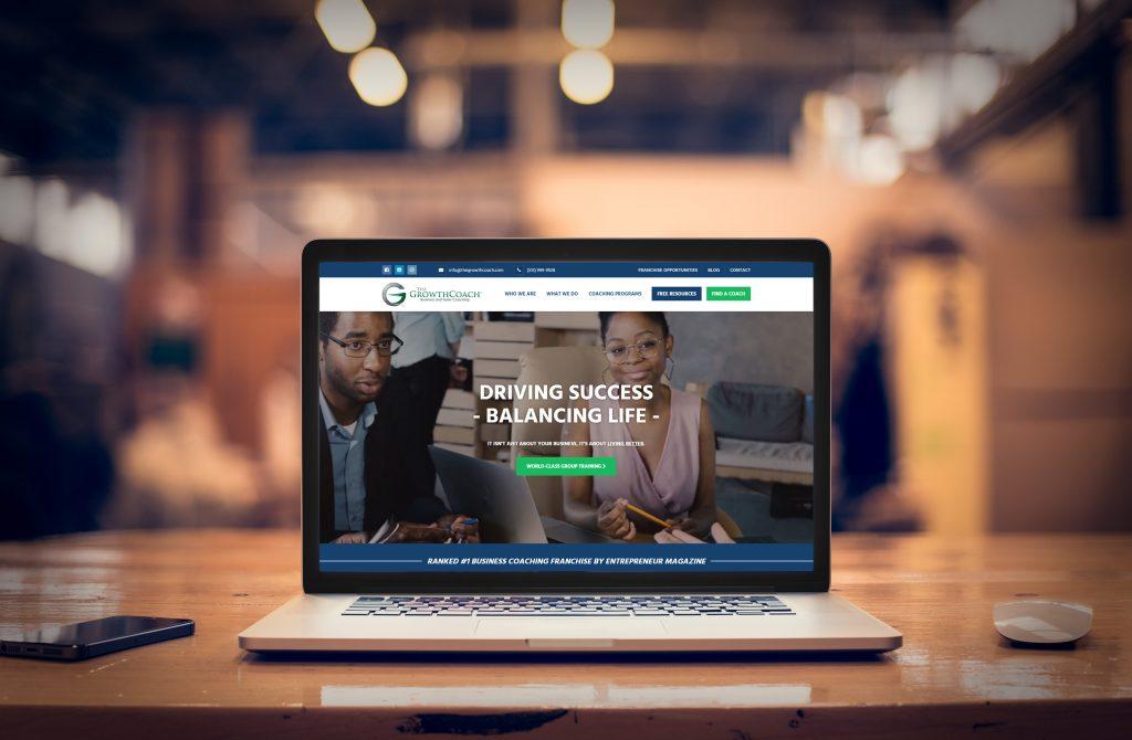 Growth Coach Website Screenshot